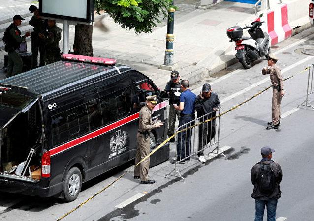 泰国监狱囚犯因冠状病毒的缘故发动骚乱