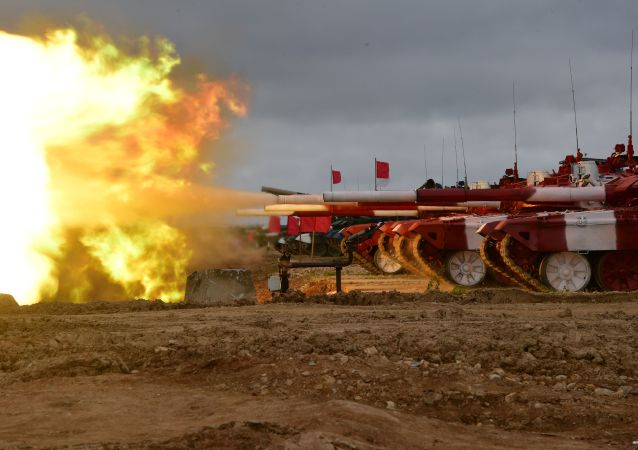 俄军在2019年坦克两项比赛中打破2017年纪录