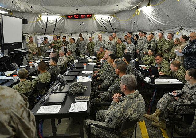 韩美两军协商上半年联合指挥所演习的实施方案