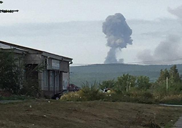 俄克拉斯诺亚尔斯克边疆区因军火库爆炸疏散近千人
