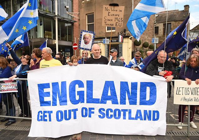 苏格兰将向伦敦提交举行独立公投的请求