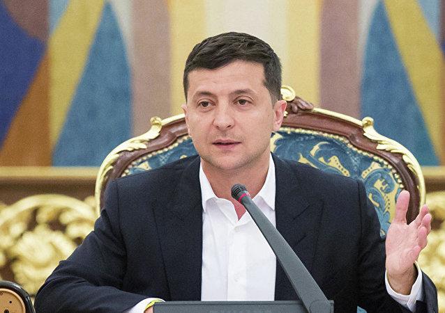 泽连斯基排除了顿巴斯地区选举在有军人在场的情况下进行的可能性
