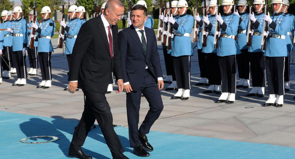 土耳其总统表示,他与乌克兰总统泽林斯基就乌东局势交换了意见。他相信,能够通过政治途径解决这一危机。