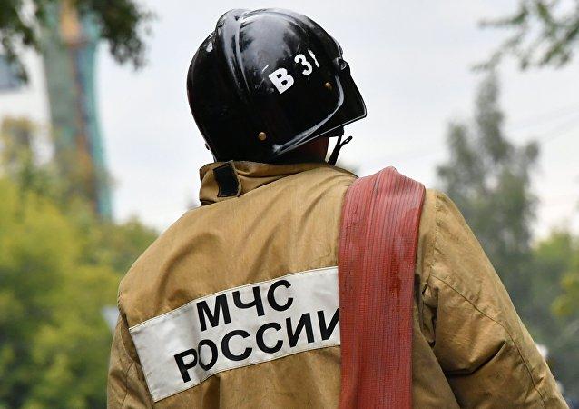 俄罗斯紧急情况部人员