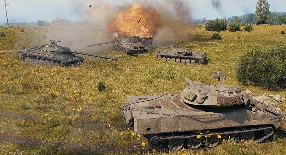 电脑游戏《坦克世界》团队与特朗普就网络游戏对世界暴力增加产生影响的议题展开争论
