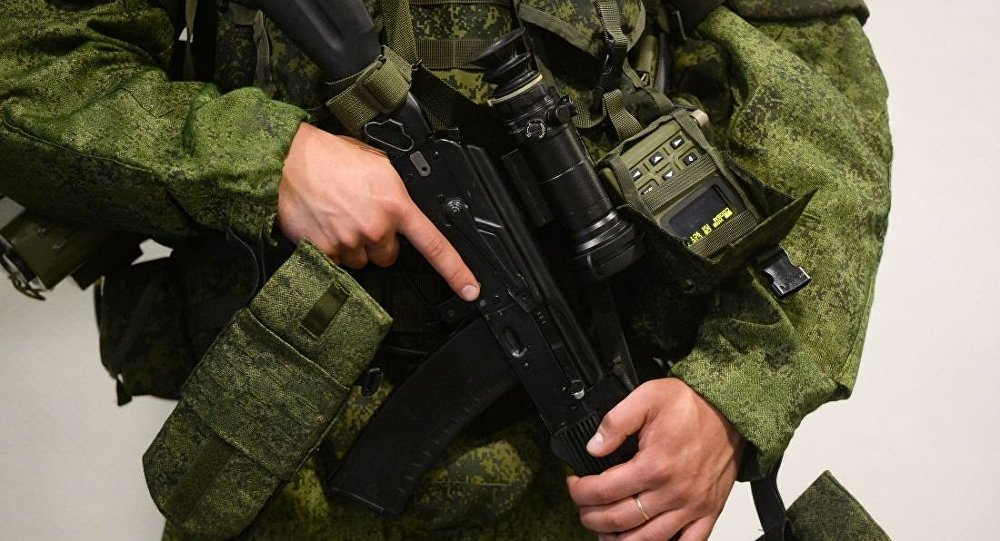 """俄罗斯单兵装备""""士兵"""""""