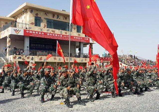 """中国陆军""""军械能手""""项目比赛中再次夺魁"""