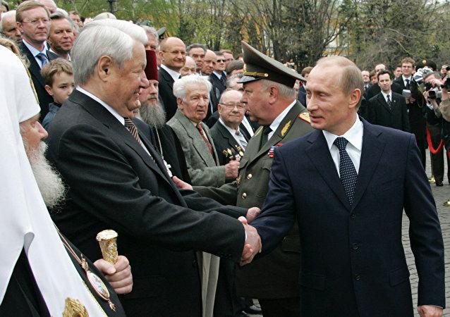 普京执政20年
