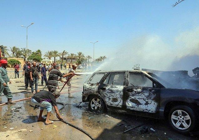班加西汽车炸弹事件遇难的联合国职员增至3人