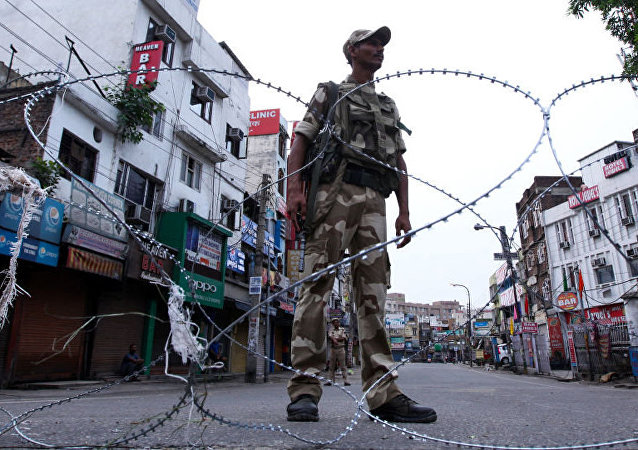 中国外交部:任何单方面改变克什米尔现状的行为都是非法无效的