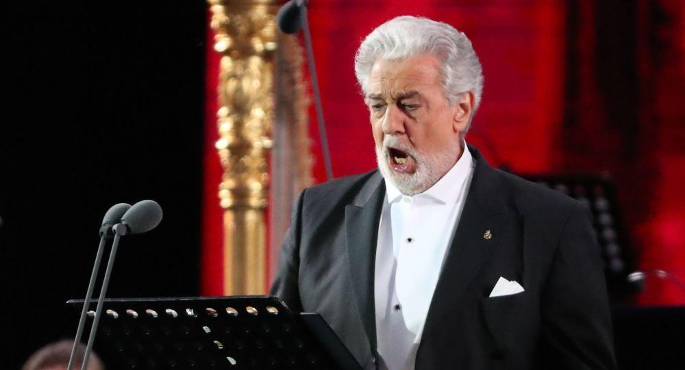 西班牙歌剧歌唱家普拉西多·多明戈