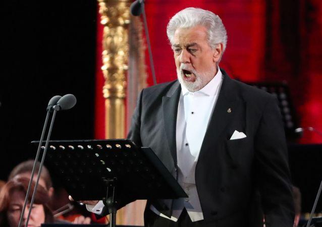西班牙著名歌唱家多明戈