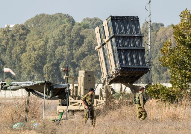 """以色列""""铁穹""""防空系统"""