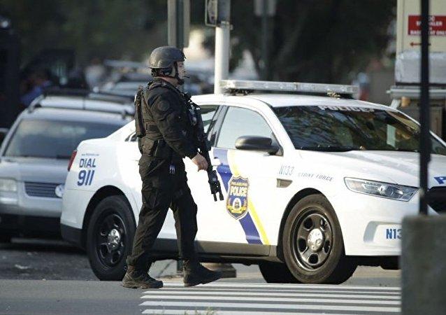 美国费城警方