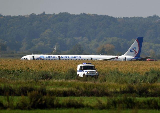 俄紧急情况部:莫斯科州A321客机硬着陆事件受伤人数增加到75人