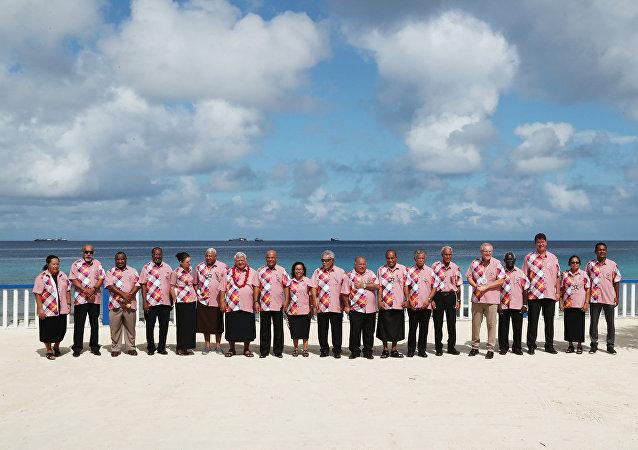 图瓦卢峰会动摇澳大利亚在大洋洲对抗中国的企图