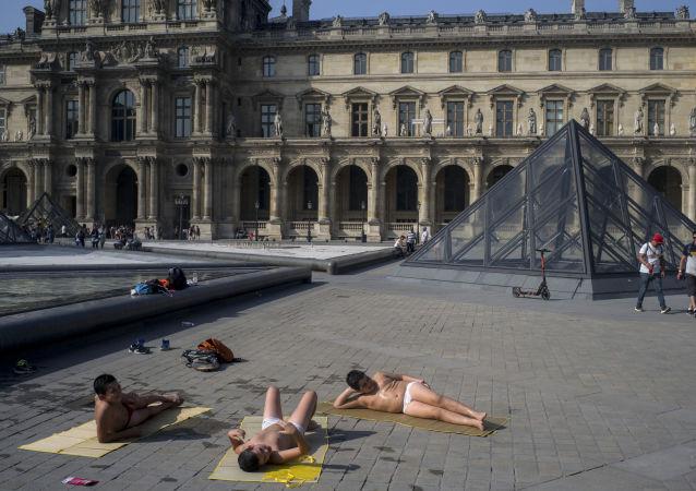 法国的高温