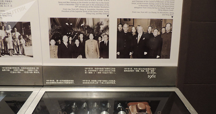 邓小平故居陈列馆馆内展品