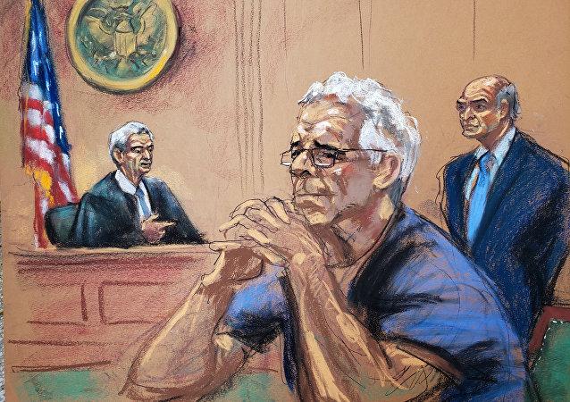 媒体:美国亿万富豪爱泼斯坦的尸检报告显示其自杀死亡