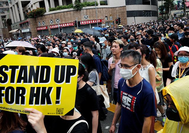 香港,2019年8月17日