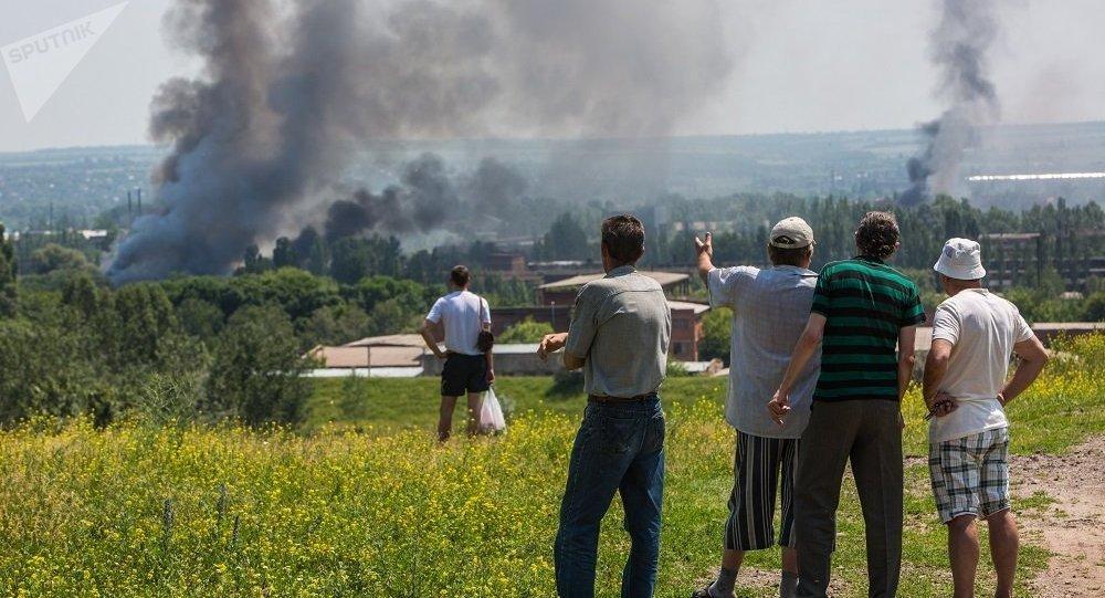 基辅称联络小组一致同意在顿巴斯建立4个部队脱离接触区