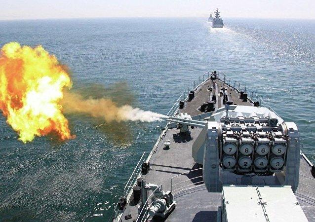 东盟和中国将于近期举行第二次海上联合军演