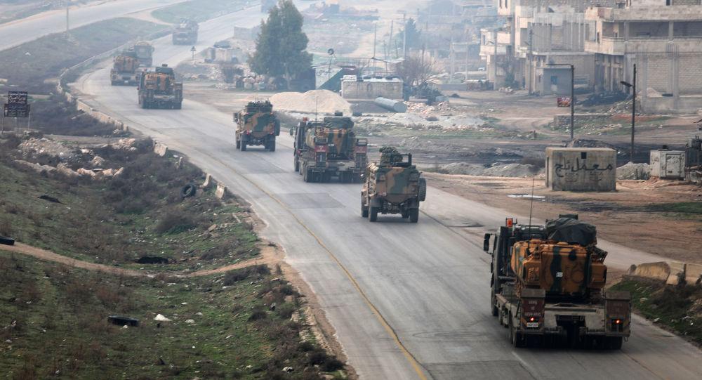 叙利亚伊德利卜省,土耳其军队