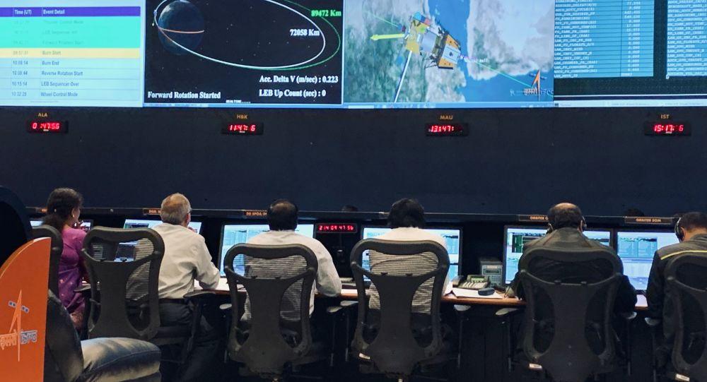印度空间研究组织负责人:登月前印度与维克拉姆号着陆模块失联