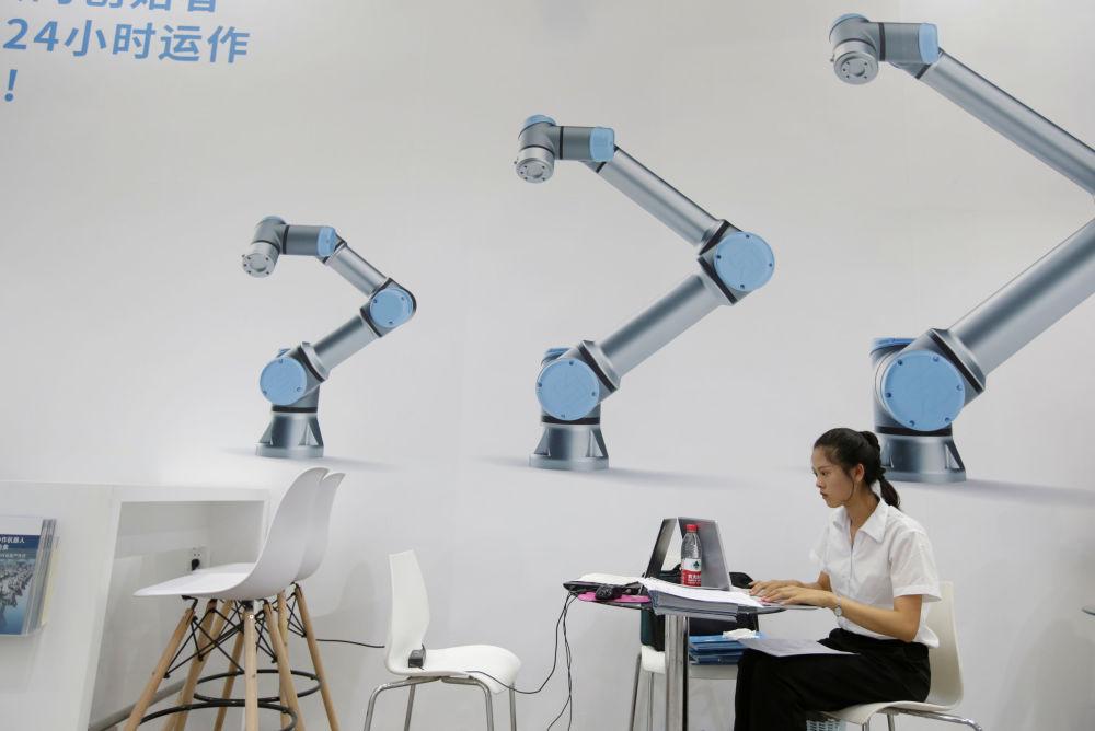 2019世界机器人大会上的展品。
