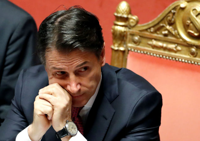 意大利总理朱塞佩∙孔特