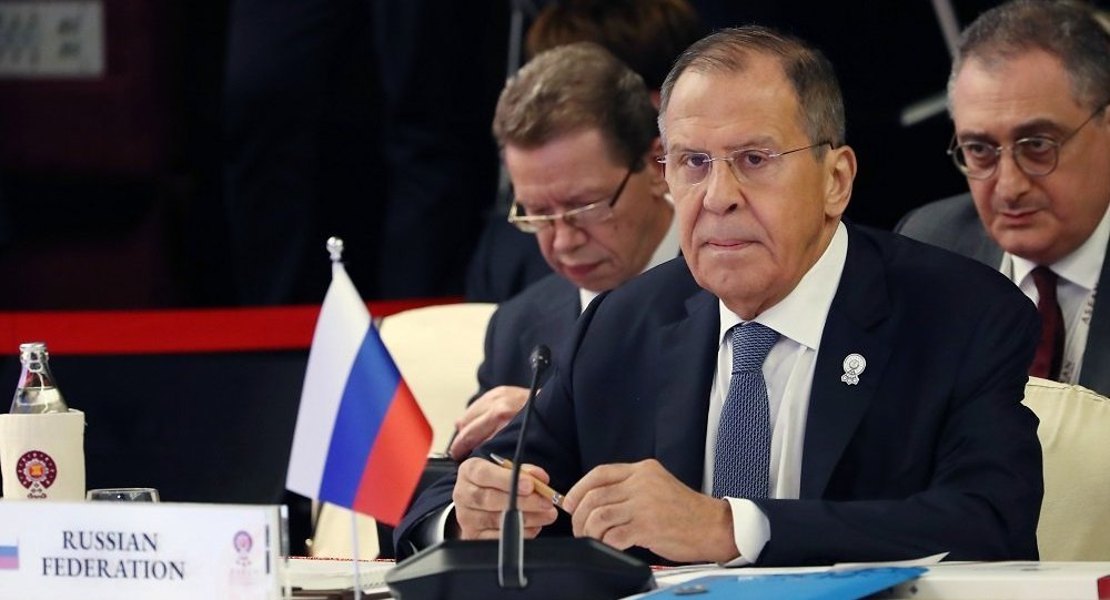 俄罗斯外长拉夫罗夫(资料图片)