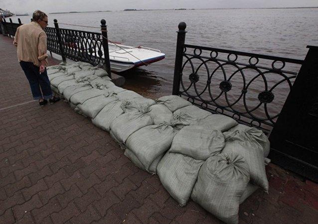 哈巴罗夫斯克洪水