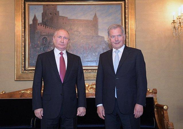 普京21日拟与芬兰总统讨论双边及国际问题