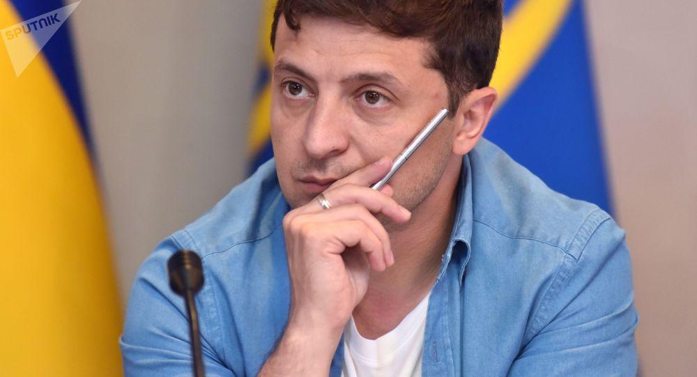 乌克兰总统泽连斯基