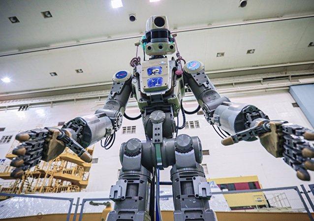 """俄罗斯的机器人""""菲奥多尔"""""""
