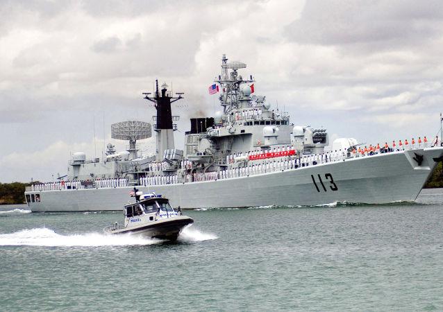 中国驱逐舰