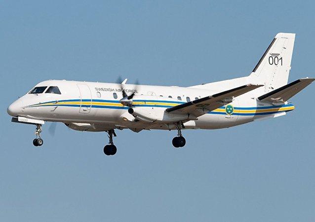 瑞典空军的SAAB 340飞机