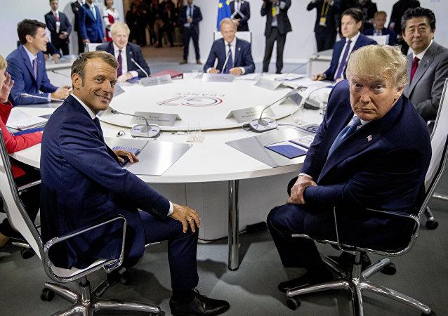 特朗普在G7峰会上被问到最多的问题