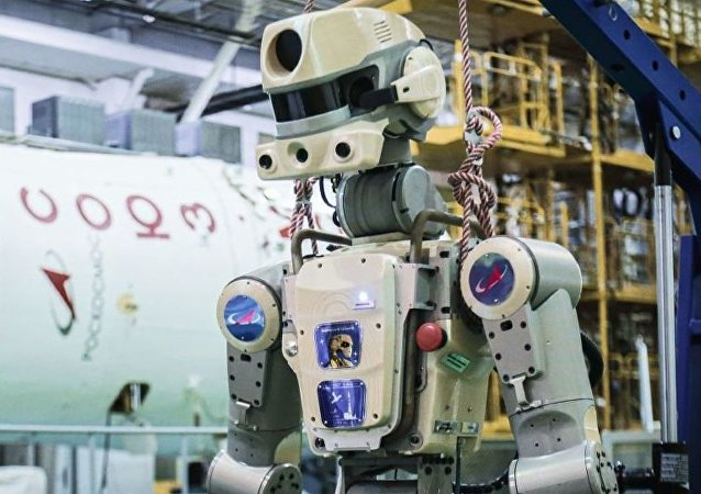 """机器人""""费奥多尔""""成为俄罗斯国家航天集团商标"""