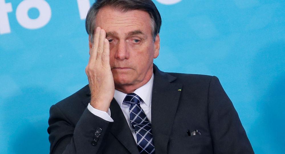 巴西总统博索纳罗新冠病毒首次检测结果阳性