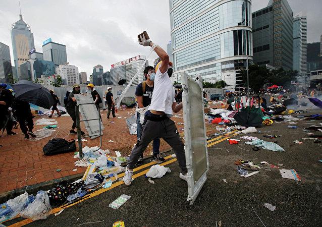 香港抗议行动