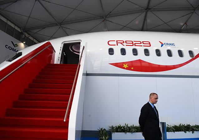 俄罗斯和中国打算2025年到2027年落实CR929制造计划