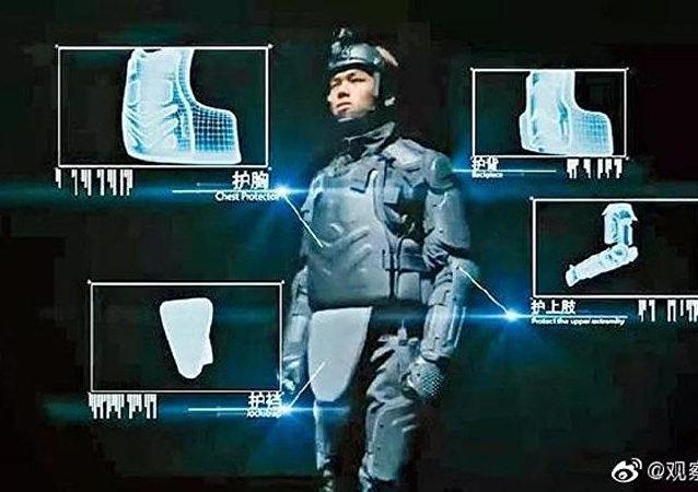 香港警方从大陆购买防护装备