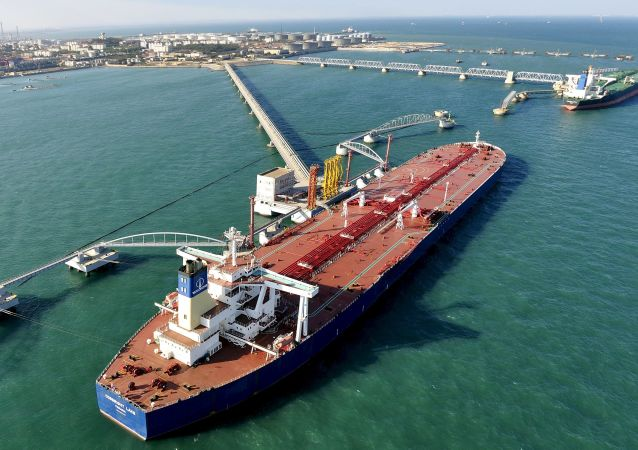 青岛原油进口港
