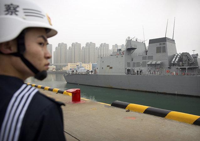 中国欲抑制美国海上野心
