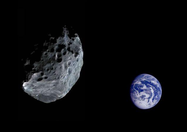俄科学家评估小行星接近地球的危险
