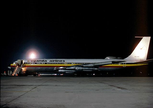 乌干达航空公司停业近20年后完成飞往内罗毕班机首航