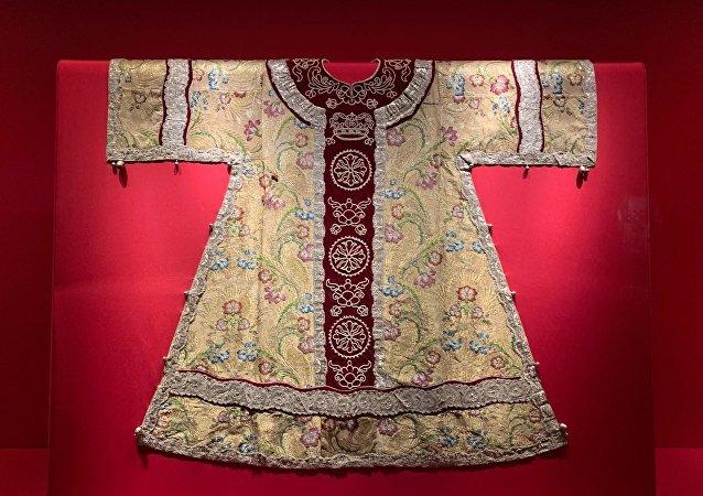 克里姆林宫的珍宝被带到了故宫
