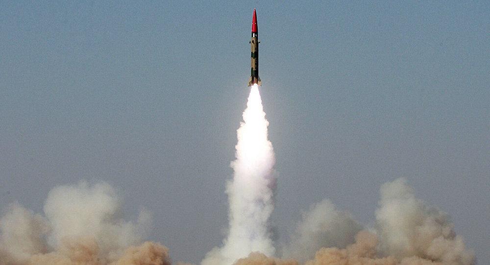 巴基斯坦成功试射导弹
