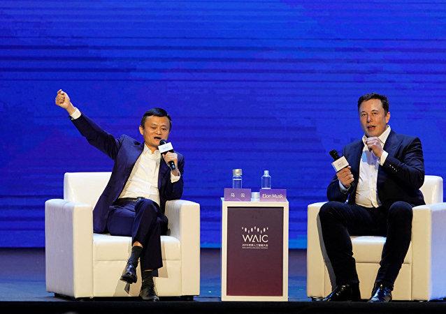 中国专家就马云和马斯克的演讲发表评论